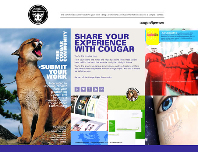 Cougar Paper by Domtar