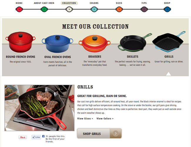 Le Creuset Cast Iron Guide